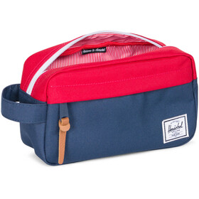 Herschel Chapter Carry On Travel Kit, navy/red